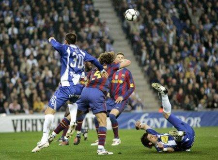 El Espanyol impidió que el Barcelona hiciera su juego y consiguió dejar a 0 al equipo azulgrana