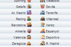 Liga Española 2009/10 1ª División: horarios y retransmisiones de la Jornada 34 con Barcelona-Xerez y Zaragoza-Real Madrid