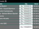 Liga ACB Jornada 29: previa, horarios y retransmisiones con otro clásico Barcelona – Real Madrid