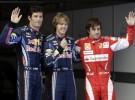 GP de China de Fórmula 1: Vettel consigue una nueva pole seguido por Webber y Alonso