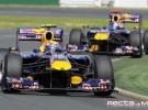 GP de Malasia: Vettel y Webber hacen doblete para Red Bull y Alonso se retira tras romper su motor