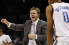 NBA: Scott Brooks, de los Thunder, nombrado entrenador del año