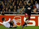 Europa League: Valencia y Atlético empatan tras un intenso partido