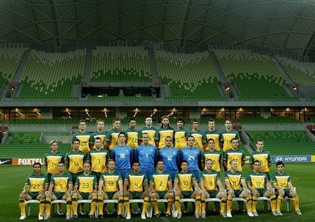 Australia ha sido la primera selección en pisar Sudáfrica para preparar el Mundial