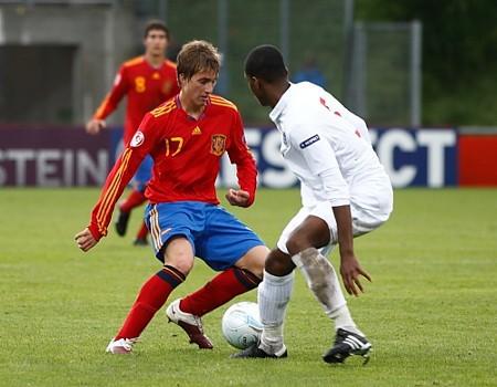 España perdió ante Inglaterra la final del Europeo sub 17 de fútbol