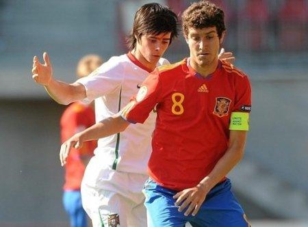 La selección española sub 17 está realizando un gran papel en el Campeonato de Europa