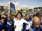 El Inter de Milán de Mourinho se hace con el título en Italia y sigue optando al triplete