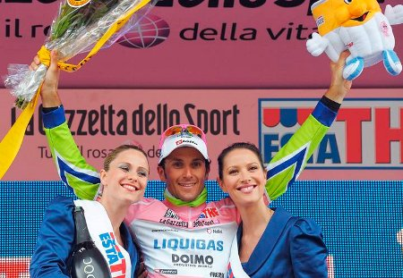 Ivan Basso ha ganado hoy en Verona su segundo Giro de Italia