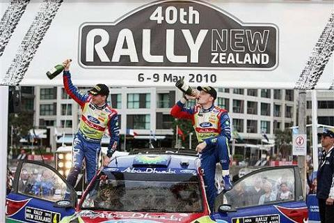 Latvala gana en Nueva Zelanda