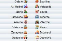 Liga Española 2009/10 1ª División: horarios y retransmisiones de la Jornada 35 con Barcelona-Tenerife y Mallorca-Real Madrid