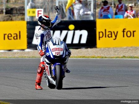 Jorge Lorenzo logra en 2010 su primera victoria en Jerez en Moto Gp