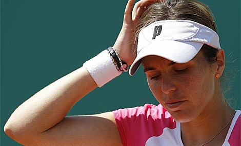 Maria Jose Martinez cae en la primera ronda de Roland Garros