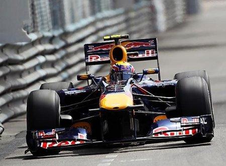 Mark Webber partirá desde la primera posición en el Gran Premio de Mónaco de Fórmula 1