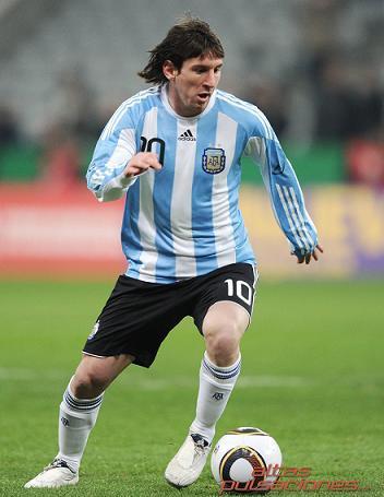 Leo Messi Messi liderara a Argentina