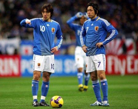 La estrella de la selección de Japón es Shunsuke Nakamura