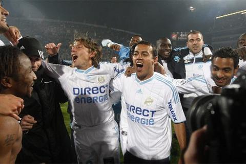 El Olympique de Marsella gana la Liga Francesa