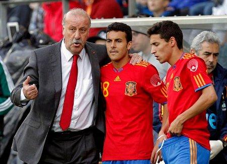 Vicente Del Bosque le dio a Pedro la oportunidad de debutar con la selección española