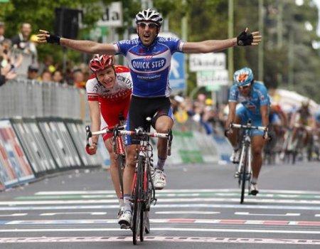 El francés Pineau se ha llevado la quinta etapa del Giro de Italia 2010