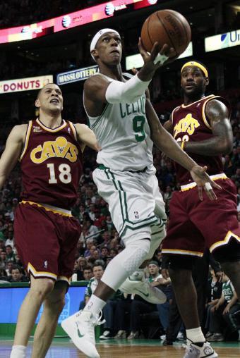 Rajon Rondo fue el mejor de los Celtics en su victoria ante los Cavs