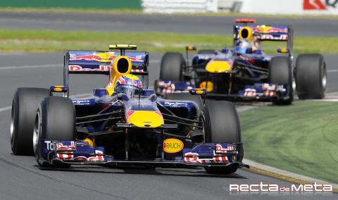 Red Bull aplasta a sus rivales