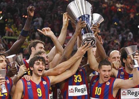 Regal Barcelona es el nuevo campeon de la Euroliga de baloncesto