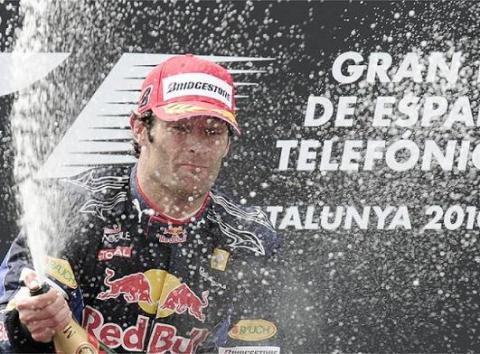Webber gana en Barcelona