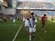 Liga Española 2009/10 2ª División: el alirón de la Real Sociedad se pospone una jornada más