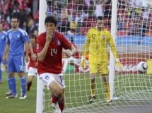 Mundial de Sudáfrica: Corea del Sur es el primer líder del Grupo B