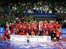 ElPozo Murcia se proclama Campeón de la Liga Nacional de Fútbol Sala 2009/10