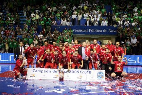 ElPozo Murcia revalida su titulo de campeon de liga