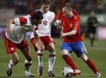 España termina su preparación para el Mundial goleando 6-0 a Polonia
