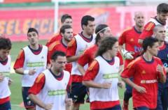 Mundial de Sudáfrica: España desata la locura en Murcia antes del partido ante Polonia, último de preparación