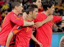 Mundial de Sudáfrica: España se impone por 2-0 a Honduras con doblete de Villa