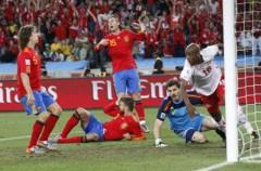 Mundial de Sudáfrica: España cae por 0-1 ante Suiza en el debut
