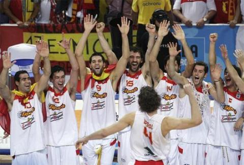 Eurobasket ganado por España