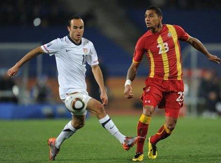 Mundial de Sudáfrica: Ghana vence a Estados Unidos con un gol de Gyan en la prórroga