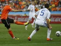 Mundial de Sudáfrica: Holanda derrota a Eslovaquia por 2-1 pero no convence