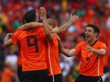 Mundial de Sudáfrica: Holanda y Japón lideran el grupo E tras ganar a Dinamarca y Camerún
