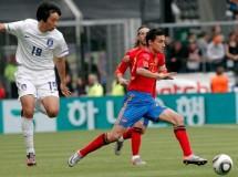 Jesús Navas acude al rescate de España ante Corea del Sur
