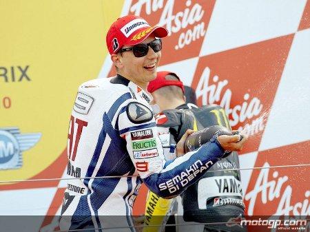 Jorge Lorenzo no ha tenido rival en Silverstone para ganar en Moto GP
