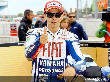 Jorge Lorenzo logra una nueva pole position en el GP de Gran Bretaña