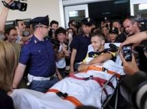 Valentino Rossi sale del hospital y comenta sus impresiones tras sus dos operaciones