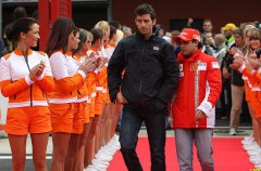 Mark Webber y Felipe Massa renuevan con Red Bull y Ferrari