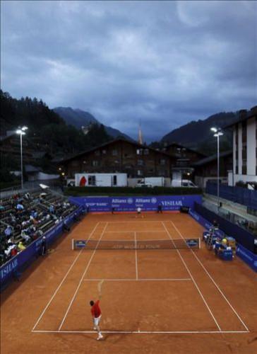 Gstaad: Almagro y Gimeno Traver a semifinales, caen Montañes y Youzhny