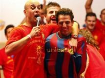 La fiesta del Mundial: impresionante recibimiento y baño de multitudes en Madrid