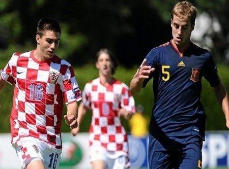 España derrotó a Croacia en el debut en el Europeo sub 19