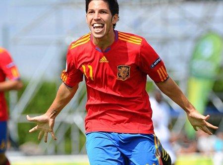 Los goles de Dani Pacheco han guiado a España sub 19 a la final del Europeo