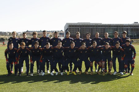 Europeo sub 19: los 18 convocados por Luis Milla para defender a España