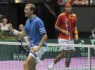 Copa Davis España-Francia: Verdasco y Feliciano pierden el partido de dobles y España cae eliminada