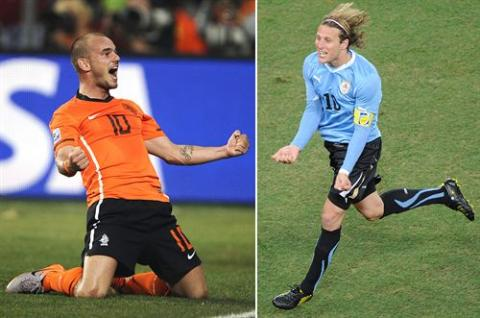 Holanda y Uruguay